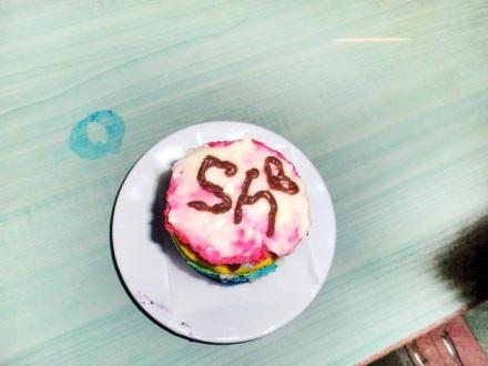 Rainbow Sponge Cake