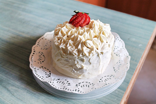 Japanese Strawberry and Cheese Shortcake