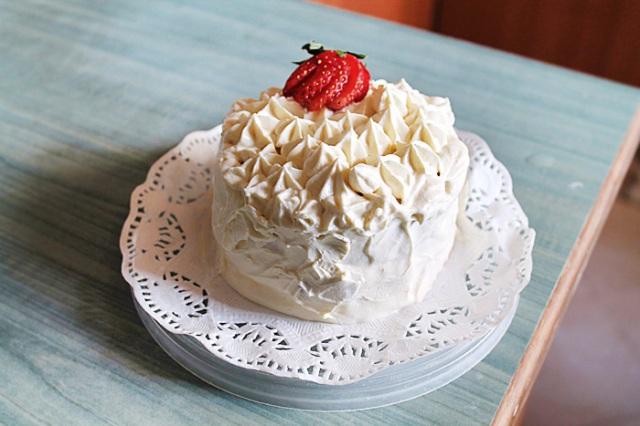 Japanese Strawberry and Cheese Shortcake
