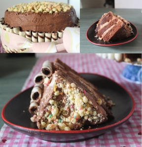 Decadent Milo Layer Cake